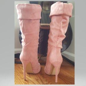 Liliana Shoes - Liliana Dusty Pink Heels